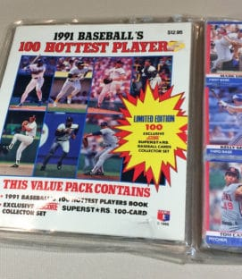 1991 Score Hottest Players Card Set