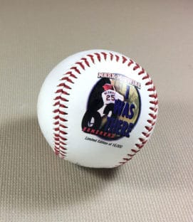 Mark McGwire Commemorative 62 Home Run Ball