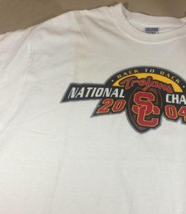 USC 2004 NCAA Champions Shirt