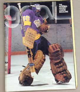 Los Angeles Kings Cleveland Barons 1977 Program