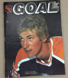 Los Angeles Kings Edmonton Oilers 1980 Program
