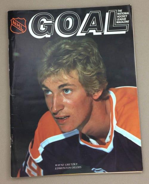 Los Angeles Kings Edmonton Oilers 1980 Program