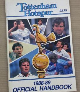 1988-89 Tottenham Hand Book