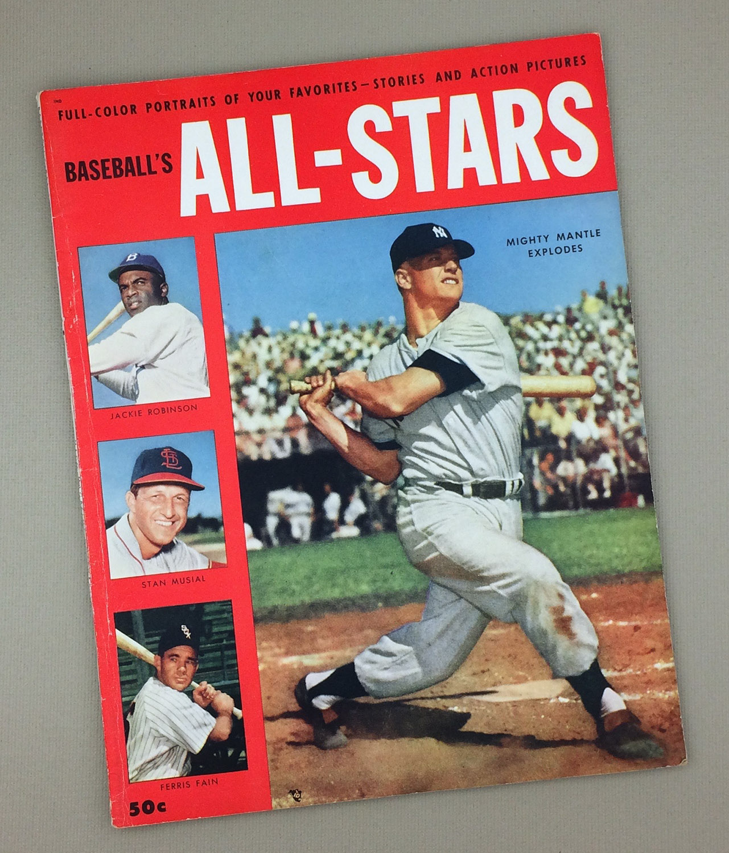 1953 BASEBALL'S ALL-STARS Magazine