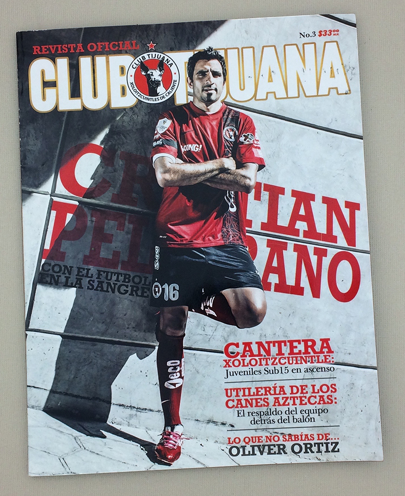 2014 Xolos de Tijuana Clausura Yearbook