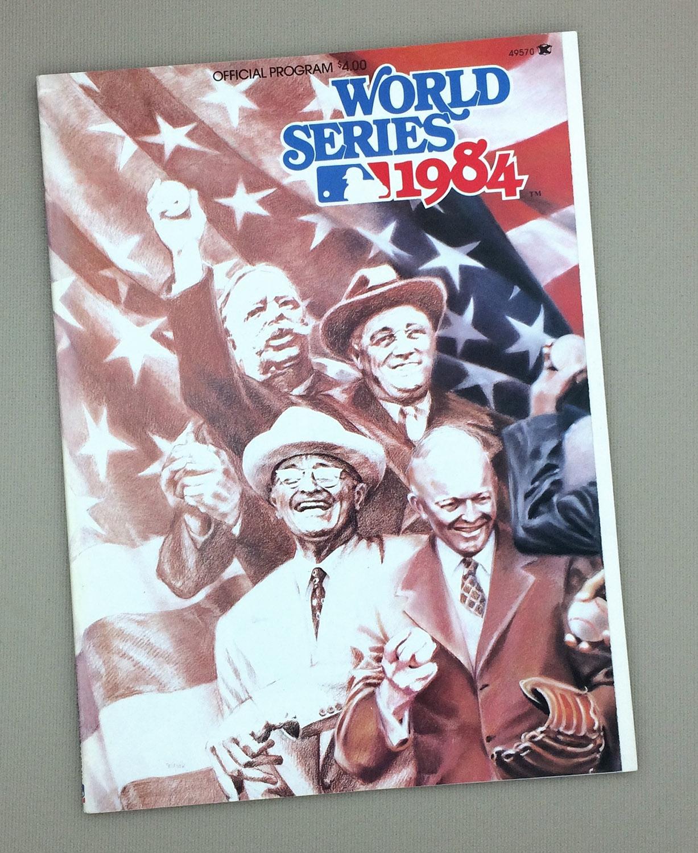 World Series 1984 Game Program